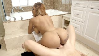 Big booty Moriah Mills getting fucked on the floor Preview Image