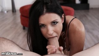 Beautiful India Summer makes that huge_tool melt in her mouth Preview Image