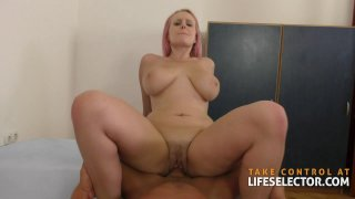 Angel Wicky  Lesbian Fucked by Big Dick Preview Image