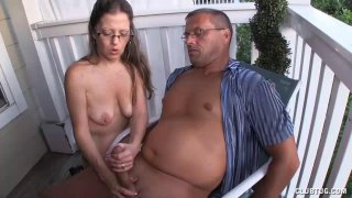 Mature Milf Offers Sensual Handjob To Her Man Preview Image