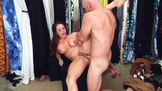 Big titted Ariella Ferrera gets pussy drilled by Johnny Sins Preview Image
