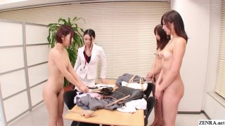 Bizarre CMNF JAV nudist saleswomen_Subtitles Preview Image