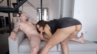Mature Lisa Ann is sucking Mr. Pete's cock Preview Image