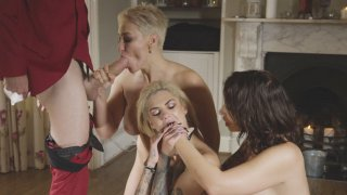 Bonnie Rotten, Ivy Lebelle and Ryan Keely_suck the big cock Preview Image