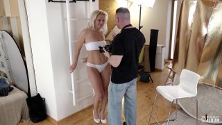 Buxom blonde MILF gives_head and_takes it from behind Preview Image