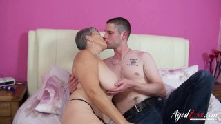AgedLovE Mature Lady Savanna Fucks Horny Lover Preview Image