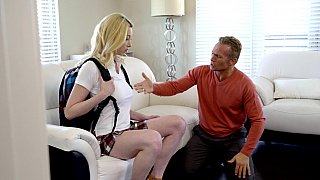 Busty blonde gets gaped HARD Preview Image