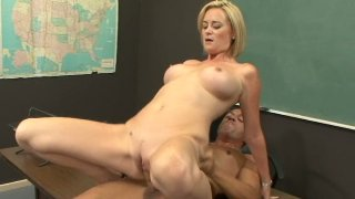 Student learns sex geography with slutty teacher Camryn Cross Preview Image