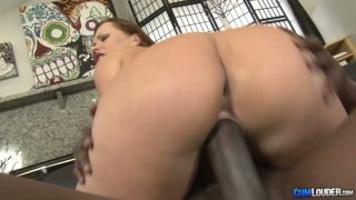 Gorgeous bbw milf Katja Kassin blows giant BBC and rides_on top. Preview Image