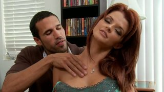 Spoiled red head Joslyn James fucks like pro Preview Image
