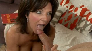Black haired middle aged dame desires to suck strong fresh dick Preview Image