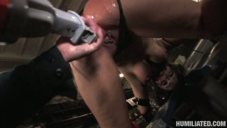 Whorish cunt Charley Chase gets bounded and fucked by weird_dildo device Preview Image