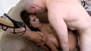 Flexible Anjanette Astoria gets cock in open pose Preview Image