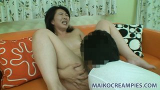 Naho Tajiri gets her wet and horny cunt eaten and fingered hard Preview Image