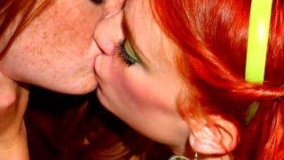Two lesbians Dani Jensen & Faye Reagan enjoys each other's pussies Preview Image