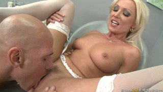Sexy dentist Diana Doll gets a lunch break for awesome fuck session Preview Image