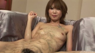 Some sex toys can be used on horny Rika Sakurai for pleasing her cunt Preview Image