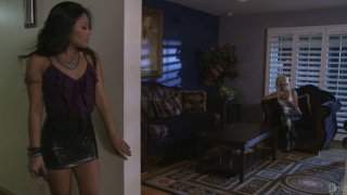 Kaylani Lei & Briana Blair get rid of boyfriends and enjoy each other's pussies Preview Image