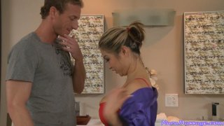 Busty Mia Ryder is a real guru in erotic massage Preview Image