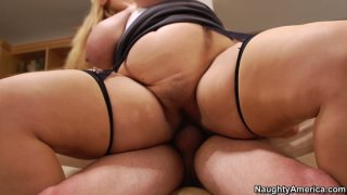 Blonde mature whore Samantha 38G got the ugliest ass in the world Preview Image