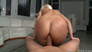 Jaw droping blonde Holly Halston gets her butt hole analized Preview Image