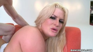 Insatiable chubby hoe Julie Cash gets fucked in her favorite doggy pose Preview Image