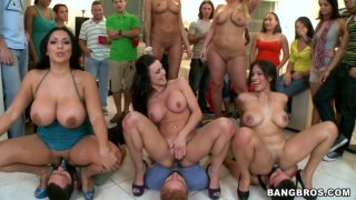 Hardcore gangbang party with Kayla Carrera, Jamie Valentine, Julie Cash, Kiara Marie, Kendra Lust Preview Image