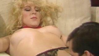 Trashy Vintage Blonde MILF Sex Preview Image