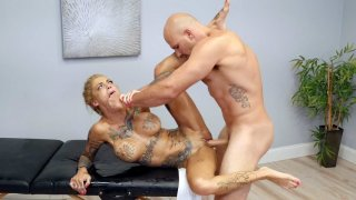 Tattooed Bonnie Rotten gets pussy drilled by Jmac Preview Image