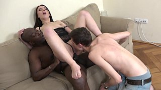 Husband recruits black to fuck_his wife Preview Image