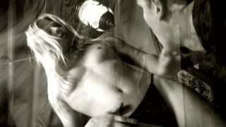 Blonde bitch Dominica Leoni poses on a cam and gives a head Preview Image