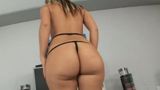 Bootylicious Candy shows off her round ass and_pink_pussy Preview Image