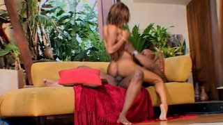 Unforgettable pussy pounding of ebony chick Marie Luv Preview Image