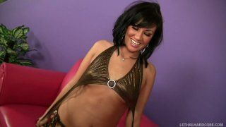 Chris Strokes licks the wet pussy of bootylicious Valerie Luxe Preview Image