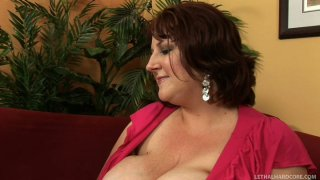Sapphire and her saggy huge boobs in action Preview Image