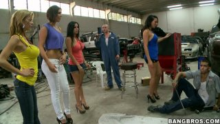 Surprise visit of Rachel Starr, Diamond Kitty, Alexis Fawx and Anastasia Morna Preview Image