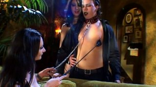 Dirty BDSM games with kinky whores Raine and Kamila Preview Image