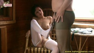 Charming girlie Madlena rides a_stiff and_hot tool in the attic Preview Image