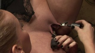 Dirty BDSM game with two curvy ladies_Humpy Milla and Kathia Nobili Preview Image