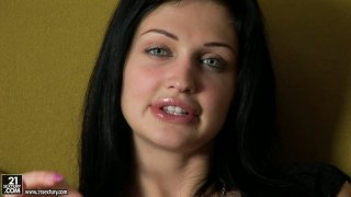 Marvelous beauty Aletta Ocean is giving an interview sharing her experience Preview Image