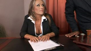 Slutty boss Vivian gets fucked hard by her subordinates Preview Image