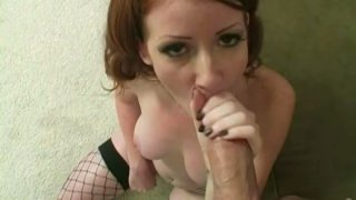 Cheesy whore Nikki Rhodes sucks_a hard dick deepthroat and jumps on a cock like crazy Preview Image