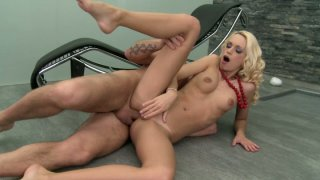 Voracious blonde beauty Erica Fontes has her tiny_asshole_gaped Preview Image
