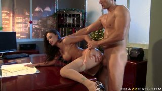 Lustful boss Claudia Valentine gets punished hard in_her_office Preview Image
