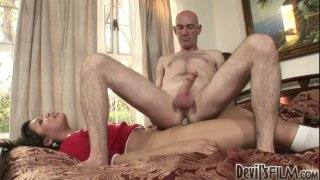 Freaky shemale Carmen Moore hasa fetish_for mature ugly guys Preview Image