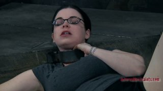 Four eyed slut Sybil Hawthorne plays dirty BDSM games Preview Image