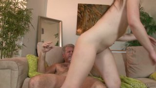 Izzi Ryder rides cock and stimulates her perky clit Preview Image