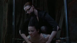 Pretty busty pale skin girl Sybil Hawthorne in her extreme lesbo BDSM game Preview Image