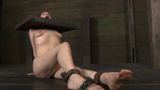 Utmost BDSM game of disgraceful redhead bitch Maggie Mead Preview Image