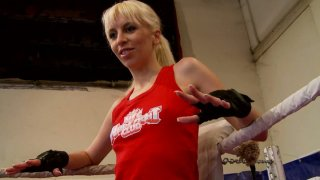 Furious pussy fight on the ring with wicked whore Alexa Wild Preview Image